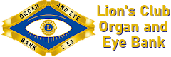 Lion's Club Organ and Eye Bank - logo