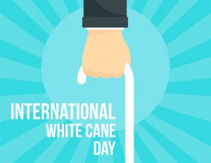 Lion's Club LOEB 2E2 - Ocober 15 is International White Cane Day